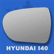 Left passenger  side wing mirror glass for Hyundai i40 2012-2018 heated