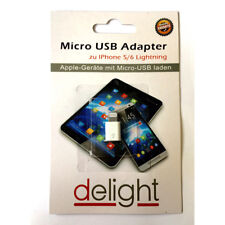 Adaptateur Lightning 8 pin vers Micro USB  iPhone 5,6,7,8,x- iPad - iPod