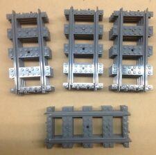 16 Straight LEGO train tracks, New - Cheapest total price on Ebay!
