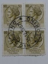 4 x Italy Stamps - Each - 50 Lire