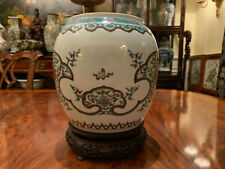 A Rare and Excellent Chinese Qing Dynasty Doucai Porcelain Jar.