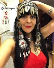 Turkmen Tribal Headpiece Dance Headband Ethnic Head Band Kuchi Headdress Kuchi