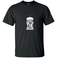 Trust me I'm the Doctor - Geek Who T-Shirt Black White Custom Sizes