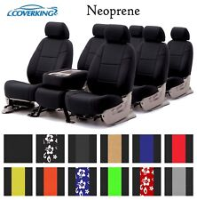 Coverking Custom Seat Covers Neoprene 3 Row Set - 12 Color Options