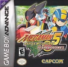 Mega Man Battle Network 5: Team Colonel (Game Boy Advance) GBA
