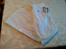 Ellen Tracy Jewel Box Betty Cropped Thin Womens 6 NWT Com Slate (Pale Blue)
