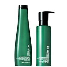 Shu Uemura Art Of Hair Ultimate Remedy Shampoo (300ml) & Conditioner (250ml) NEW