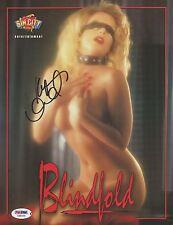 Kylie Ireland Signed 8x10 Photo PSA/DNA COA Sin City Blindfold Promo Poster Auto