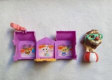 LITTLEST PETSHOP LPS HASBRO LION CLOWN CIRQUE MAISON  PLIABLE TRANSPORTABLE