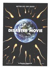 DISASTER MOVIE ~ lobby cards & door hangar 2008 movie memorabilia Kim Kardashian