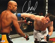 Chael Sonnen Signed UFC 11x14 Photo PSA/DNA COA 117 148 Picture v Anderson Silva