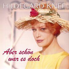 HILDEGARD KNEF - ABER SCHÖN WAR ES DOCH   CD NEU