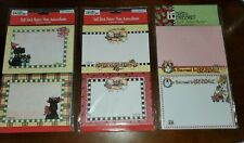 Mary Engelbreit self stick notes, lot of 3, Christmas theme, Henry, Cup of Cheer