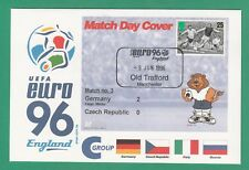 FOOTBALL  -   STAMP  COVER  ENVELOPE  FOR  EURO  96  -  MATCH  NO.  3  -  1996
