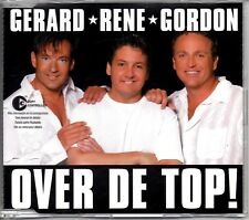 GERARD, RENE, GORDON - OVER DE TOP - CD SINGLE - MINT