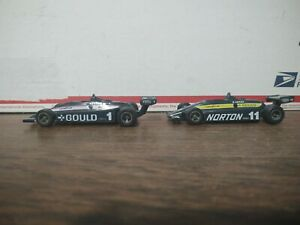 Lot Of 2 Ertl Indy Cars