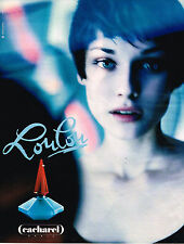 PUBLICITE ADVERTISING 035  1994  CACHAREL  parfum femme LOULOU