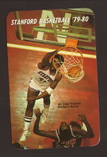 Stanford Cardinal--1979-80 Basketball Pocket Schedule--San Diego Federal Savings