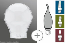 Energiesparlampen mit Birnen- & Tropfenform