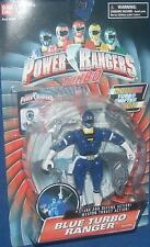"Power Rangers Turbo Blue 5"" Ranger New Double Turbo Shifter Action w weapons"