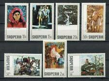 26996) ALBANIA 1972 MNH** Paintings 7v