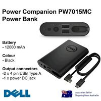 Dell Power Bank Companion PW7015MC 12000mAh Battery USB-C Notebook PowerBank