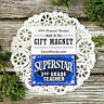 Superstar 2nd Grade TEACHER * Appreciation Magnet * School NEW USA Pkg DecoWords