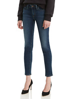 """Levis 711 Jeans Skinny Ankle off the Cuff 26W, - 27"""" IN SEAM"""