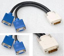 DUAL HEAD VGA MONITORKABEL SPLITTER CABLE MATROX G450 P750 G55 G200 15963-02 MDH