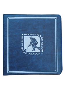 Hockey Trading Card Album + 50 Ultra Pro 9 Pocket Storage Pages