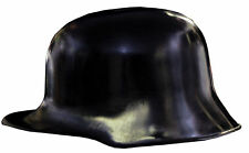 German Black Plastic 23 1/2 Inches Helmet One Size Rasta Imposta