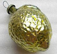 Big Groß Russen Christbaumschmuck Glas Weihnachtsschmuck Ornament Lemon Zitrone