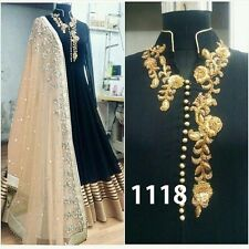 Indian Bollywood Ethnic Designer Anarkali Salwar Kameez Suit &Traditional VF0057