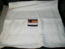 """New listing Lgbt Embroidered Bear Pride Flag Hand Towel - 16"""" x 30"""" Egyptian Cotton"""