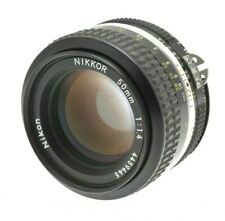 Nikon Nikkor 50mm f1.4 1:/ 1.4 AI - Standard Prime - Super Bright Lens