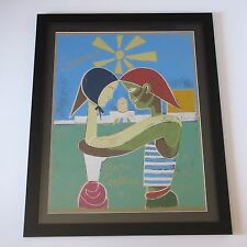 JEAN COCTEAU LITHOGRAPH RARE LTD ABSTRACT EXPRESSIONISM MODERNISM CUBISM VINTAGE