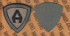 "Unknown ACU & OCP ""A"" patch OEF Afghaistan made Hook & Loop"