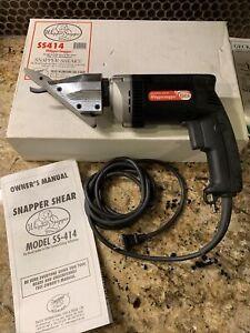 Pacific Tool & Shear Model SS414 Steelhead Fiber Cement Siding Shear. Made USA.