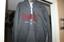Grain Belt Beer Hoodie Blue Sweatshirt Size Large Shirt