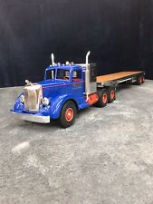 Custom Long Haul Smith Miller With Trailer Built By SM And Customized Dan