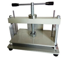 CE A4 Size Manual Flat Paper Press Machine for Nipping Vouchers, Books, Invoices