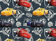 "Jersey "" Cars 3 "" River Scott 34 - Disney - Kinderstoff"