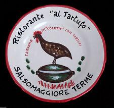 PIATTO BUON RICORDO SALSOMAGGIORE FARAONA RIEDIZIONE 1997