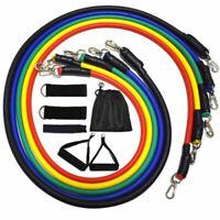 Kit 11 Fasce Bande Elastiche Elastici Fitness Palestra Di Resistenza Novità 2020