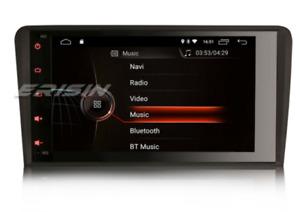 "8"" autoradio android Audi A3 8p 2003-2012 navi wi-fi bt DAB + DSP CarPlay GPS 4G"