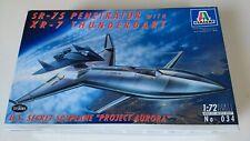 Italeri 1/72 SR-75 Penetrator with XR-7 Spyplane project Aurora model kit 034