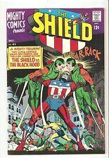 Mighty Comics # 41 (Dec 1966) VF 8.0 The Black Hood, The Shield