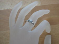 Ring (RSS0013) 925er Silber mit Swarovski-Stein, Gr. versch.