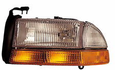 New Left Head Light Assembly Fits 97-98 to 8/18/97 Dodge Durango & Dakota