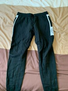 Mens Gymshark Luxe Joggers Black M